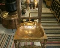 Χάλκινος Νιπτήρας Σκυριανή Καρέκλα
